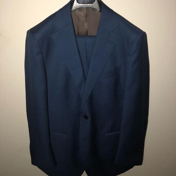 d61465a1702d Never worn Suitsupply Lazio blue check size 42r. M_5a85293c72ea88b5b685a30b